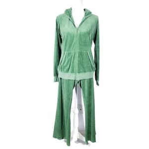 Juicy Couture Green Track Suit